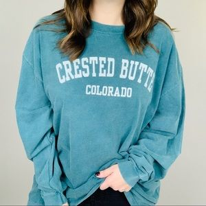 COMFORT COLORS Crested Butte Colorado Tee XL VSCO